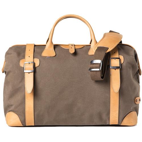Barber Shop Quiff Doctor Camera Bag (Canvas & Leather, Sand)
