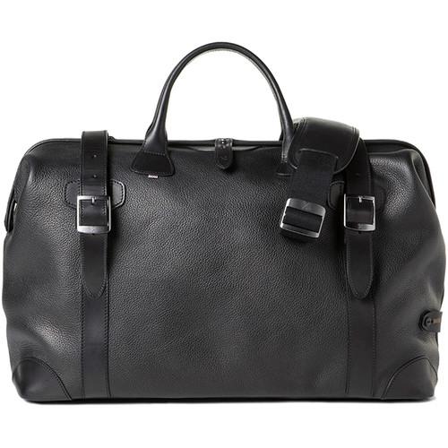 Barber Shop Quiff Doctor Camera Bag (Grained Leather, Black)