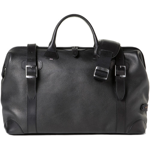 Barber Shop Quiff Doctor Camera Bag (Grained Leather, Black)