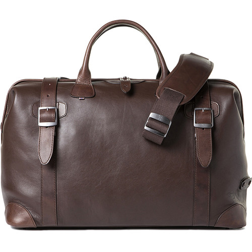 Barber Shop Quiff Doctor Camera Bag (Smooth Leather, Dark Brown)