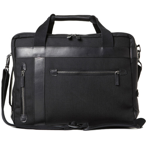 Barber Shop Undercut Convertible Camera Bag (Cordura & Leather, Black)