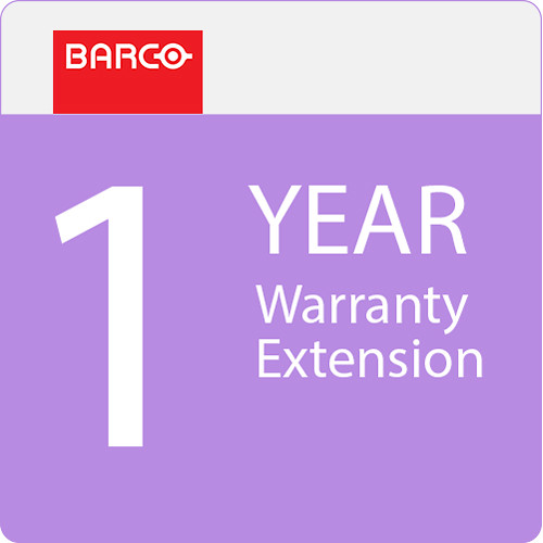 Barco 1-Year Warranty Extension for UDX 4K Series Projectors