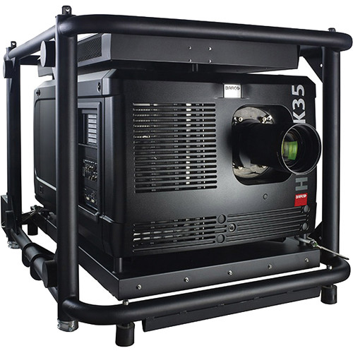 Barco HDQ-4K35 35000 LM 4K DLP Projector, Touch Panel, Processor Box, & Lens