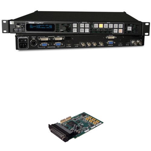 Barco ImagePRO-II Video Scaler / Scan Converter / Switcher, and Audio Module Kit