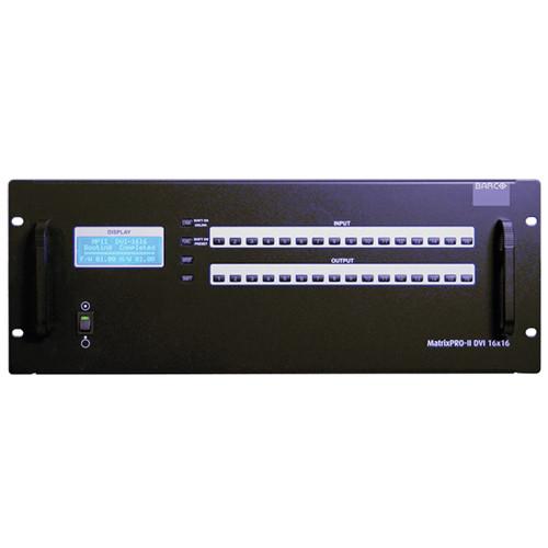 Barco MatrixPRO-II 16x16 DVI Router