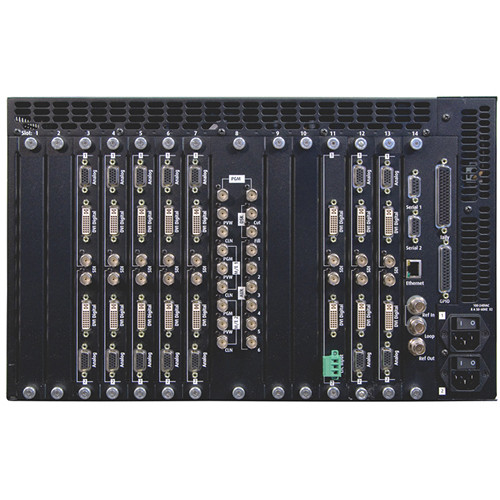 Barco FSN3G 2004 Preconfigured FSN-1400 Video Processing Chassis