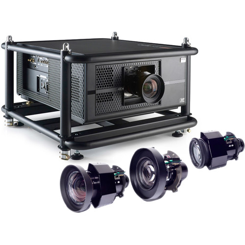 Barco RLS-W12 11,000-Lumen WUXGA DLP Projector Touring Kit with Four Lenses