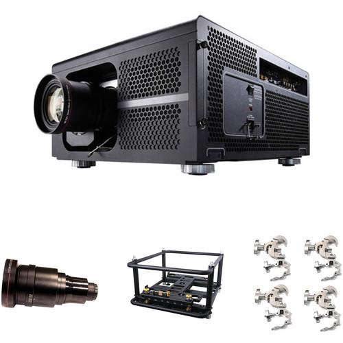 Barco RLM-W14 14,500-Lumen WUXGA DLP Projector and Rental Frame