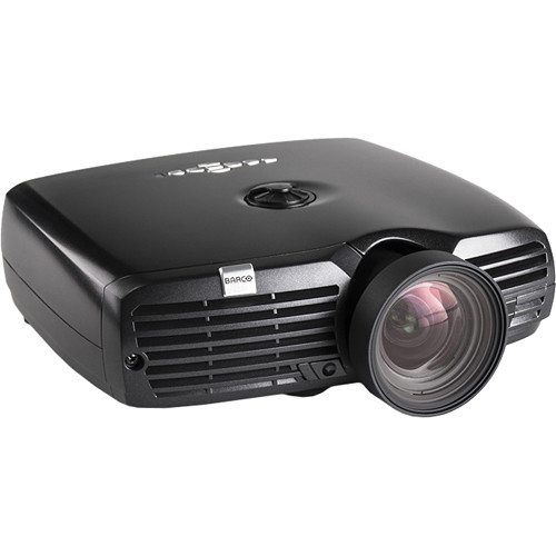 Barco F-22 1080p Installation Projector (VizSim/1400 LM/Zoom/Black)