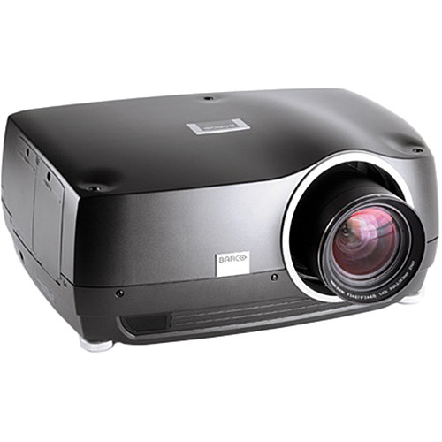 Barco F35 WQXGA Multimedia Projector with INFITEC EX Right-Eye 3D Technology (No Lens, Black Metallic)