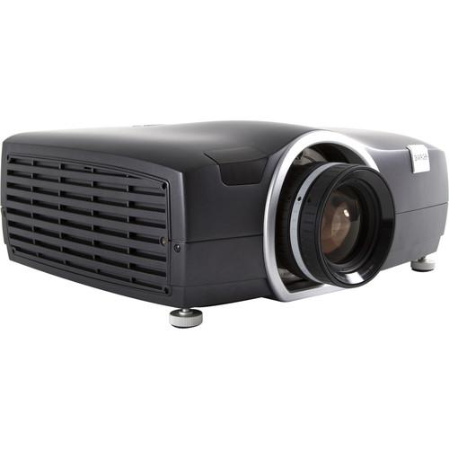 Barco F50 WQXGA VizSim Bright IR 3D Multimedia Projector (No Lens, Black Metallic)