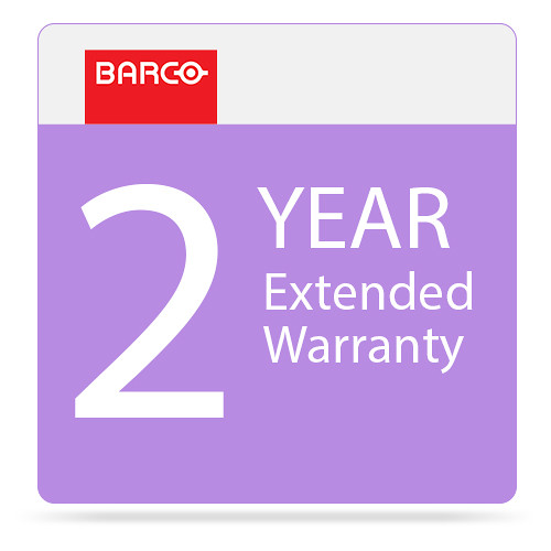 Barco 2-Year Extended Warranty for F22 Projector