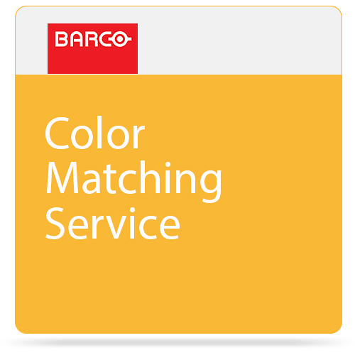Barco Color-Matching Service for One of Select Projector Models