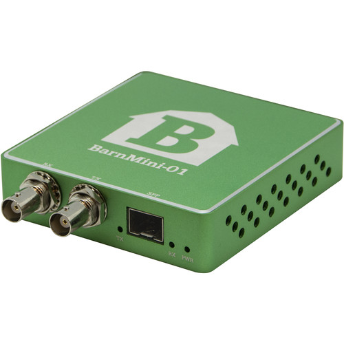 Barnfind Technologies BNC TX/RX SFP Port for Transceiver with Power Supply Unit