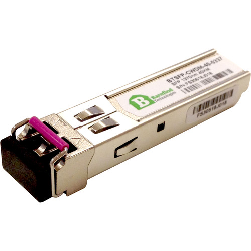 Barnfind Technologies SFP CWDM Single-Mode Transceiver Module (1.25 Gbps, 24.9 miles)