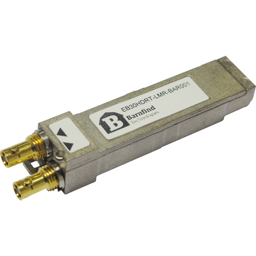 Barnfind Technologies CVBS emSFP/SFP Coaxial Transceiver, MSA, DIN1.0/2.3
