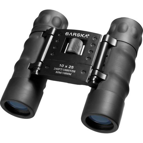 Barska 10x25 Style Black Compact (Black)