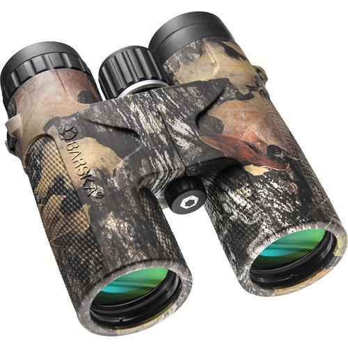 Barska 10x42 Blackhawk Binoculars (Mossy Oak, Clamshell Packaging)