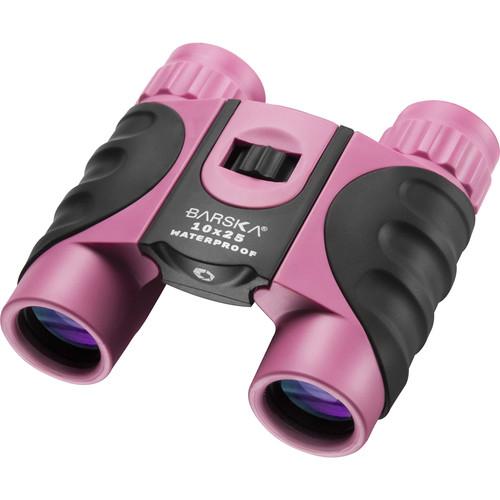 Barska 10x25 Colorado Waterproof Binoculars (Pink)