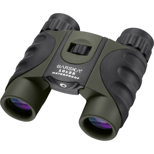 Barska 10x25 Colorado Waterproof Binocular (Green)