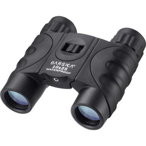 Barska 10x25 Colorado Waterproof Binocular (Black, Clamshell Packaging)