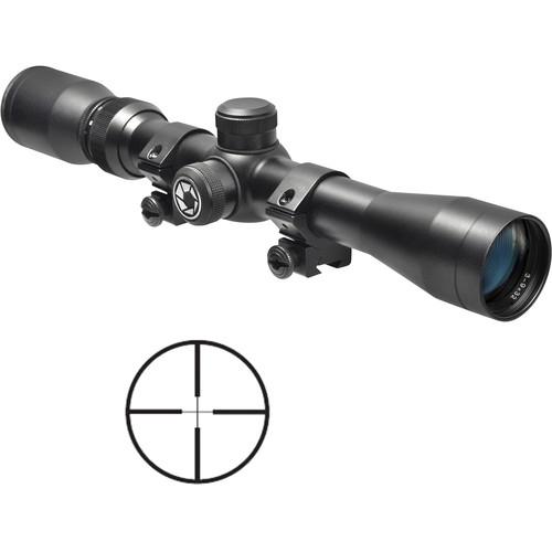 Barska 3-9x32 Plinker-22 Riflescope (30/30 Reticle, Matte Black, Clamshell Packaging)