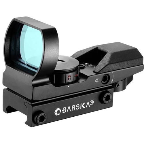Barska 1x Multi Red/Green Electro Dot-Sight(Clamshell Packaging)