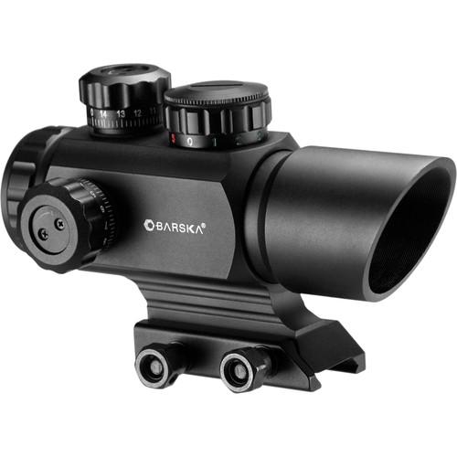 Barska AR-X 1x35mm Multi-Reticle Red/Green Dot Scope