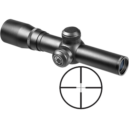 Barska 2.5x20 Contour Scope (30/30 Reticle, Matte Black)