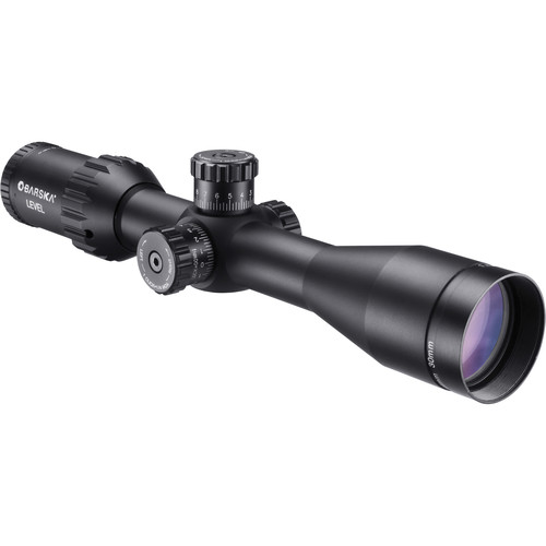 Barska Level Series 1.5-6x44 Riflescope with Red-Green Illuminated MOA Reticle (Black Matte)