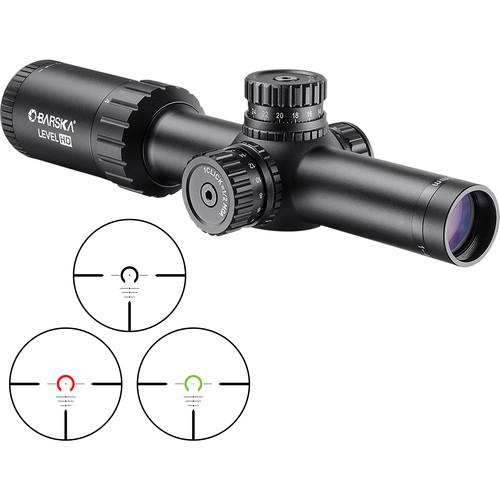 Barska 1-4x24 Level HD Riflescope (HRS .223 BDC Illuminated Reticle, Matte Black)