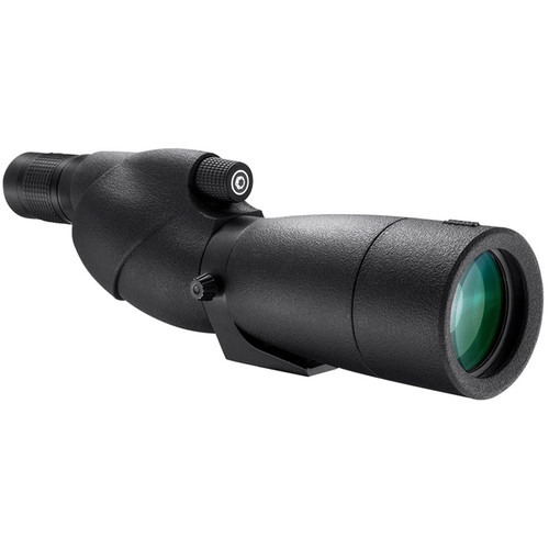 Barska Level 20-60x65 Waterproof Spotting Scope (Straight-Viewing, Black)