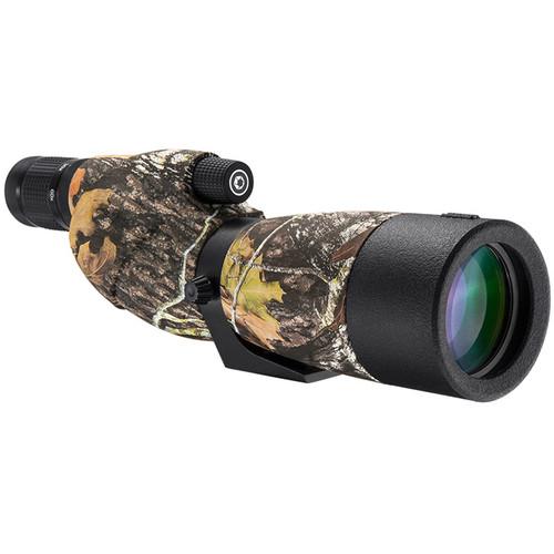Barska Level 20-60x65 Waterproof Spotting Scope (Straight-Viewing, Mossy Oak Camo)