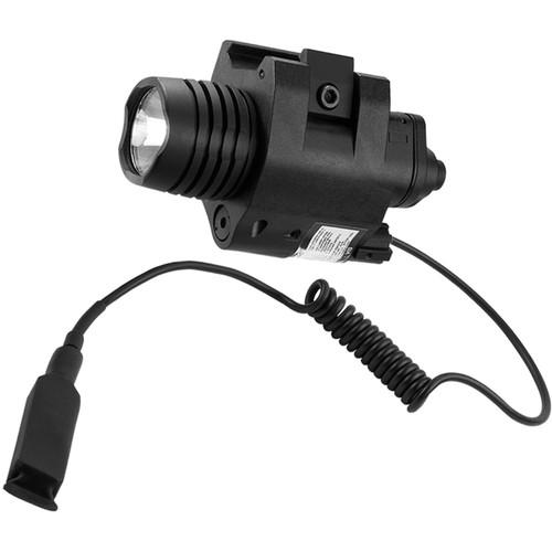 Barska AU12392 Red Laser Sight with White Flashlight
