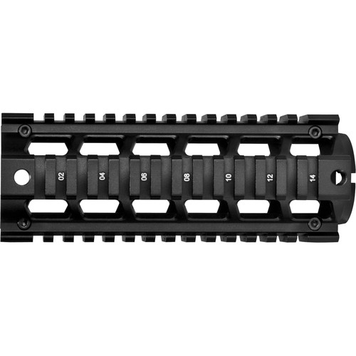 "Barska 6.75"" AR Picatinny Quad Rail (Matte Black)"