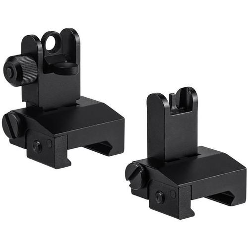 Barska Flip-Up Tactical Sight Set (Matte Black)