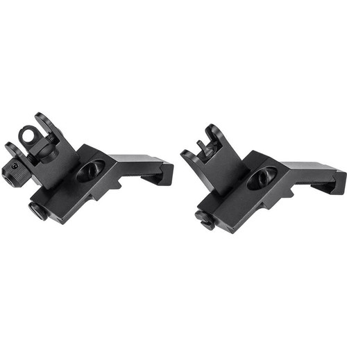 Barska Flip-Up 45-Degree Offset Sight Set (Black Matte)