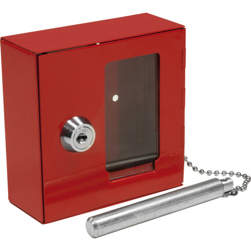 Barska Breakable Emergency Key Box with Hammer (Small)