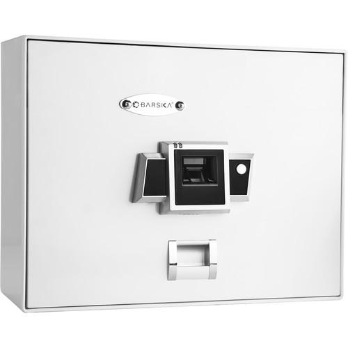 Barska BX-200 Biometric Safe (White)