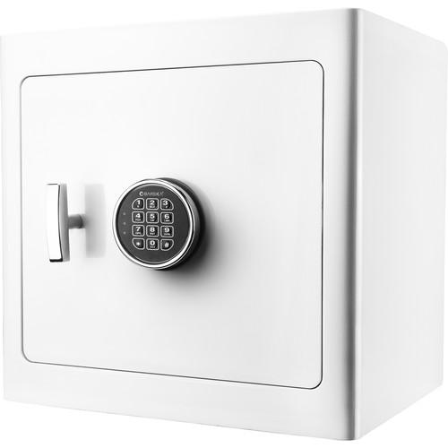 Barska Keypad-Opening Jewelry Safe (White, Dark Interior)