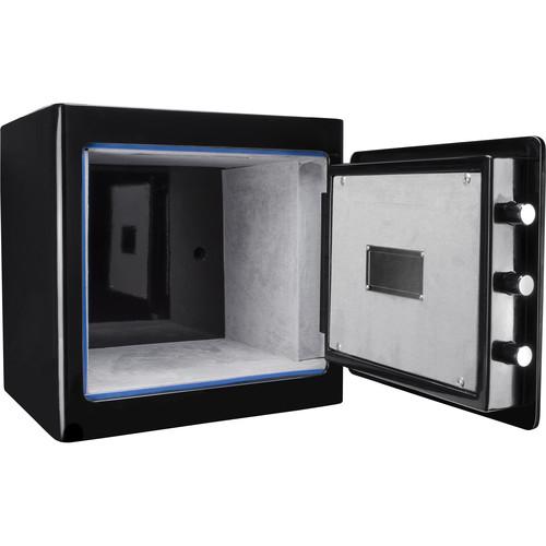 Barska Keypad-Opening Jewelry Safe Light Interior (Black)