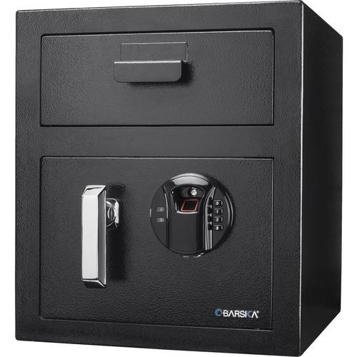 Barska Biometric Keypad Depository Safe (Black)