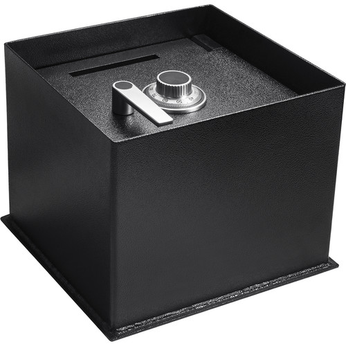 Barska Floor Safe with Combination Lock and Drop Slot 0.89 Cubic Ft (Black)