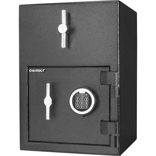 Barska 1.15 Cubic Foot Rotary Hopper Keypad Depository Safe