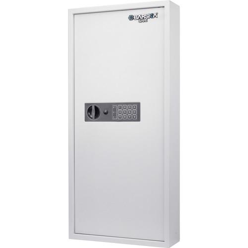 Barska 240 Keys Keypad Wall Key Safe (White)