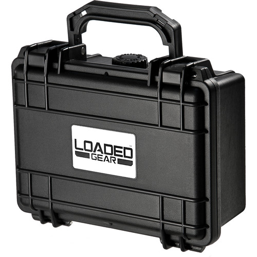 Barska HD-100 Loaded Gear Hard Case with Foam (Black)