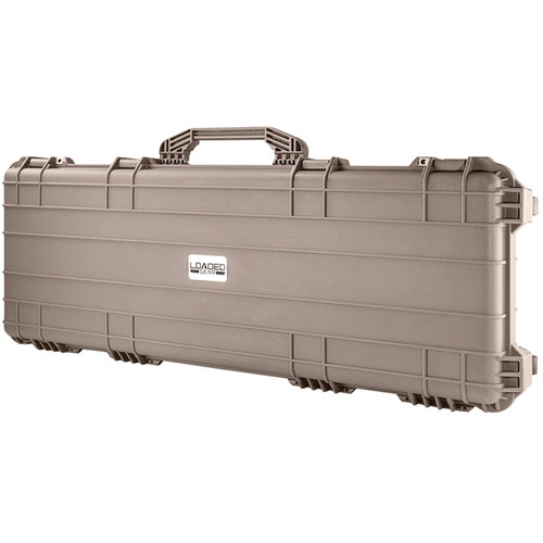 "Barska AX-600 Loaded Gear 44"" Hard Rifle Case (Dark Earth)"