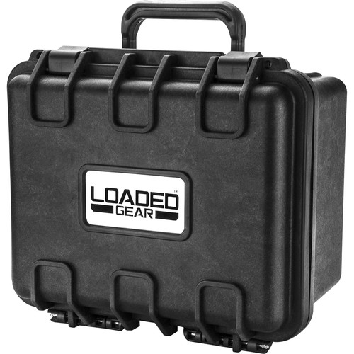 Barska HD-150 Loaded Gear Hard Case with Foam (Black)
