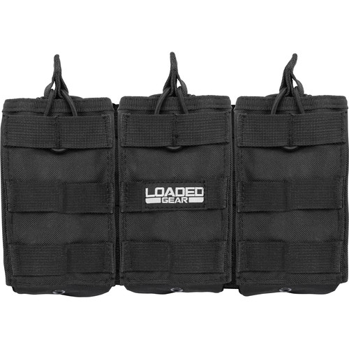 Barska CX-200 Loaded Gear Triple Magazine Pouch (Black)