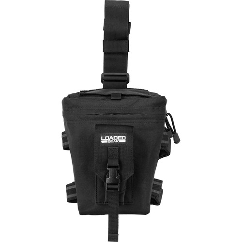 Barska CX-300 Loaded Gear Drop Leg Dump Pouch (Black)